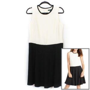 Lauren Ralph Lauren Color Block Dress 12 Petite